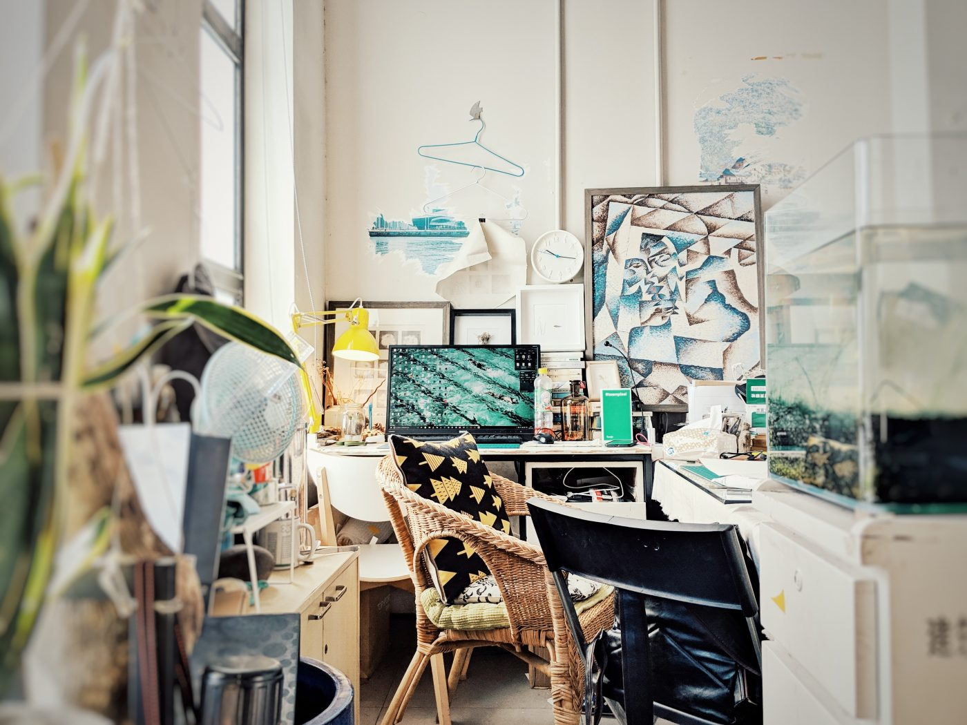A creative space: How to create a sacred space at home